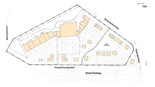 Photo 7 - Site plan after development